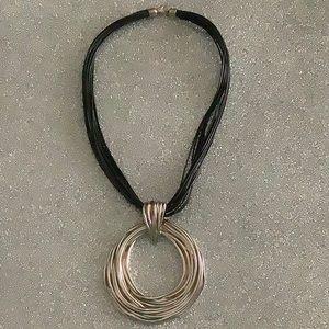 PZ 925 Israel pendant necklace